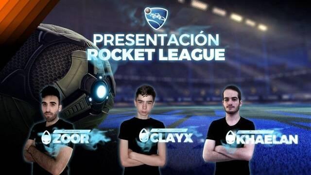 x6tence presenta a su nuevo equipo de Rocket League