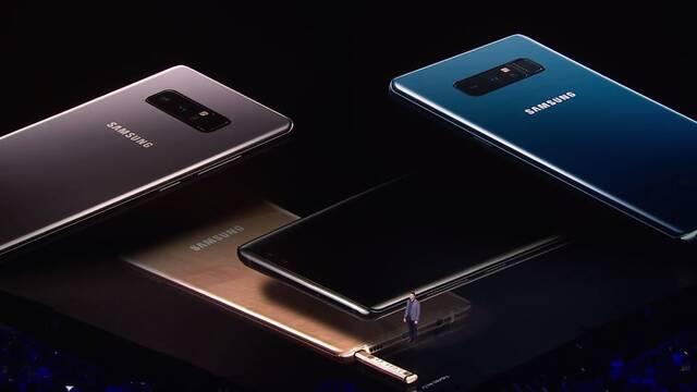 Samsung Galaxy Note 8, a la venta el 14 de septiembre por 1010,33€