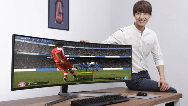 Samsung lanza el monitor para videojuegos QLED más grande del mundo