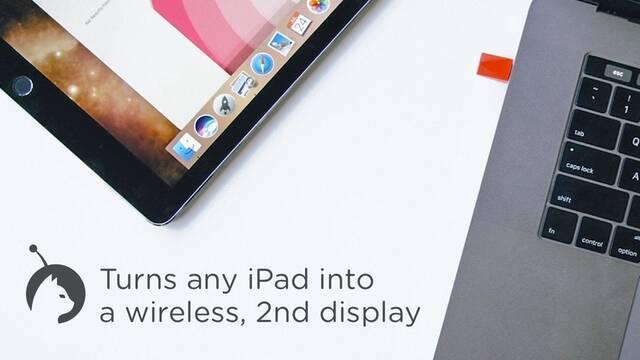 Tu iPad se convierte en la segunda pantalla de tu Mac gracias a este dispositivo USB