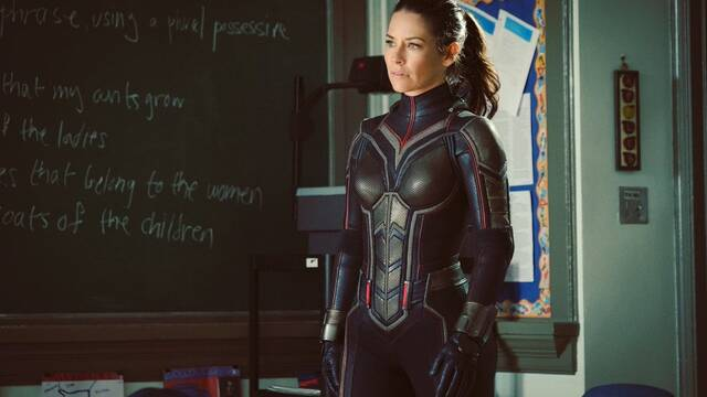Evangeline Lilly se muestra como Avispa en la secuela de Ant-Man