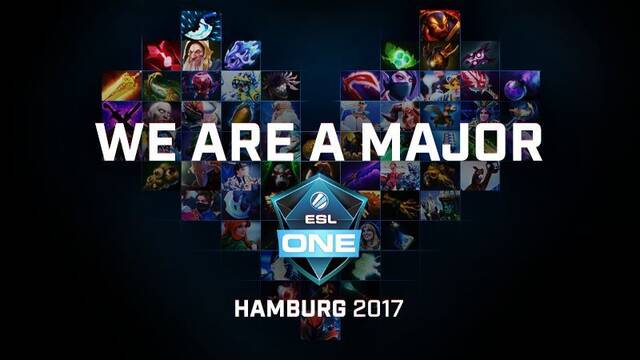 ESL One Hamburg será el primer major de DOTA 2 de la temporada 2017-2018