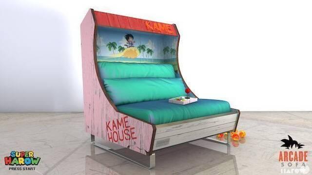 Llegan los nuevos sofás arcade de Street Fighter o Dragon Ball