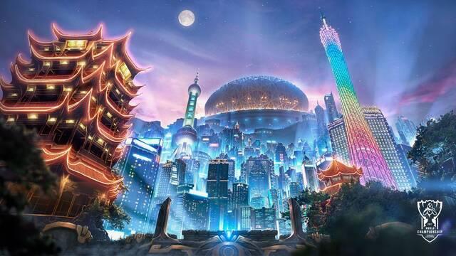 Los banners y los logos de los equipos de los Worlds 2017 de League of Legends llegan al PBE