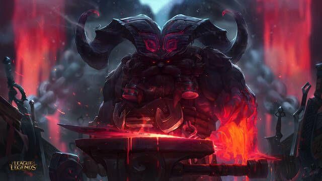 Ornn es el nuevo campeón para League of Legends que forja su propio equipo