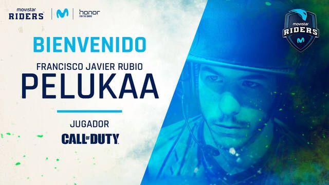 """Movistar Riders ficha a Francisco Javier """"peLukaa"""" para su equipo de Call of Duty"""