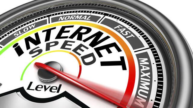 La velocidad media de internet en España es inferior a los 20 megas