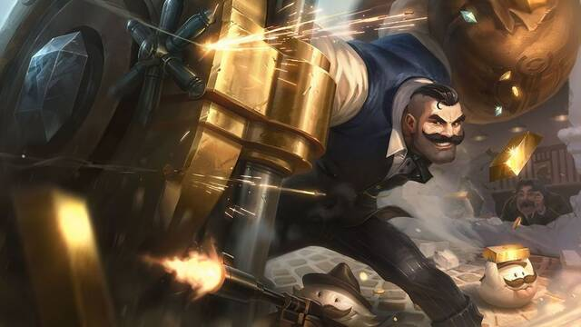 Así es Bombardeo al Nexo, nuevo modo de League of Legends