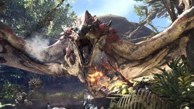 Monster Hunter World bate récords en Steam