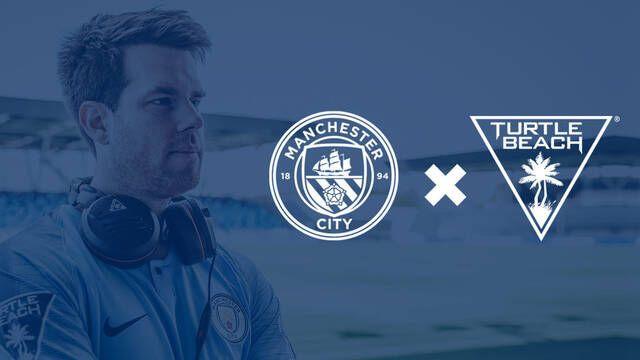 El Manchester City firma un acuerdo de colaboración con Turtle Beach