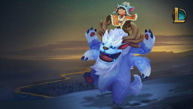 Se filtra una imagen del nuevo diseño de Nunu en League of Legends