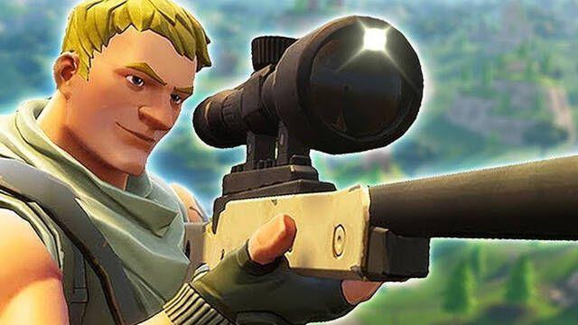 Primer vistazo al francotirador que atraviesa paredes en Fortnite