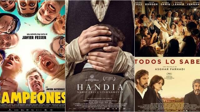 Campeones, Handia y Todos lo saben, seleccionadas para representar a España en los Oscar
