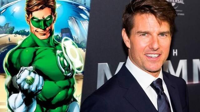 Tom Cruise es el favorito para ser Linterna Verde