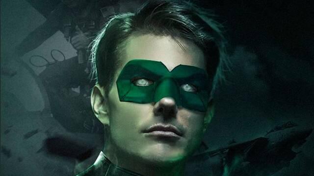Así luce Tom Cruise como Linterna Verde en un fanart