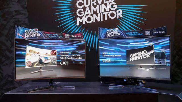 Gamescom 2018: Samsung presenta su monitor curvo para gamers CJG5
