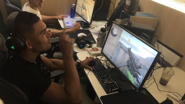 Casemiro da su apoyo a MIBR, el popular equipo de CS:GO