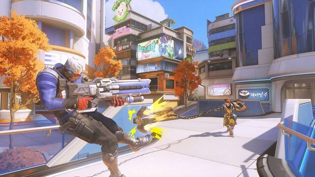Overwatch estrena su nuevo mapa: Busan