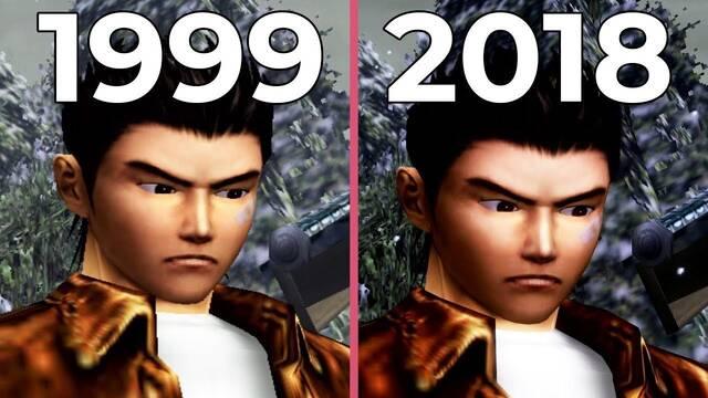 Comparativa gráfica: Shenmue en Dreamcast VS. Shenmue en PS4