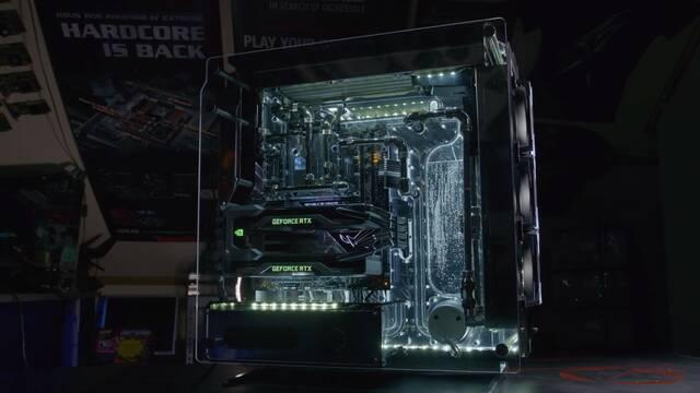 El PC Modding de los viernes: El primer PC con dos RTX 2080 Ti