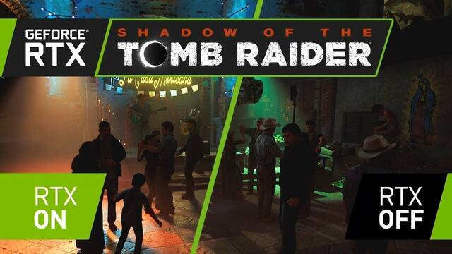 Así se ve Shadow of the Tomb Raider con y sin el RTX de NVIDIA