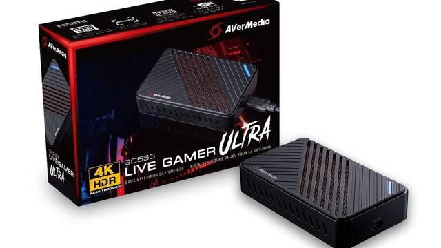 Live Gamer Ultra, la nueva capturadora 4K y 30 fps de AverMedia