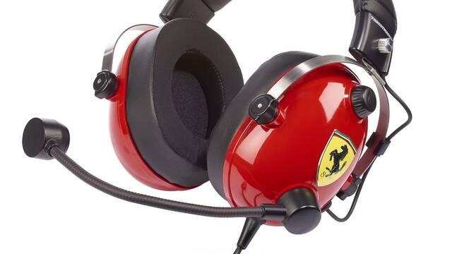 Thrustmaster lanza sus auriculares de Ferrari