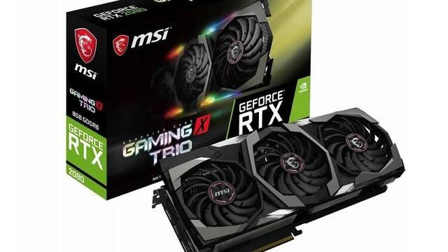 Las MSI RTX 2080 y 2080 Ti también estarán disponibles el 20 de septiembre