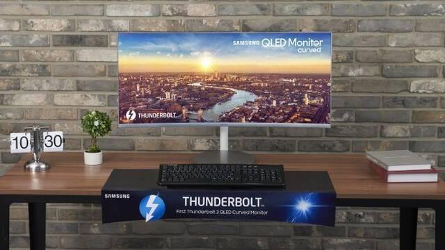 Samsung muestras sus tres nuevos monitores curvos para gamers