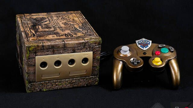 Así es la increíble GameCube de The Legend of Zelda