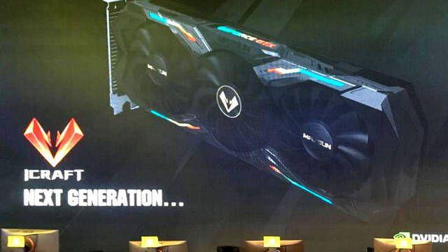 Primera imagen de la GeForce GTX 2080 de Maxsun