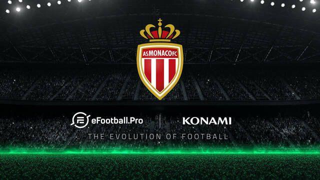 El Mónaco se une a eFootball.Pro, la competición de PES de Piqué