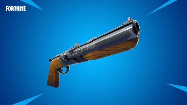 Fortnite estrena su versión 5.2 con la escopeta de doble cañón