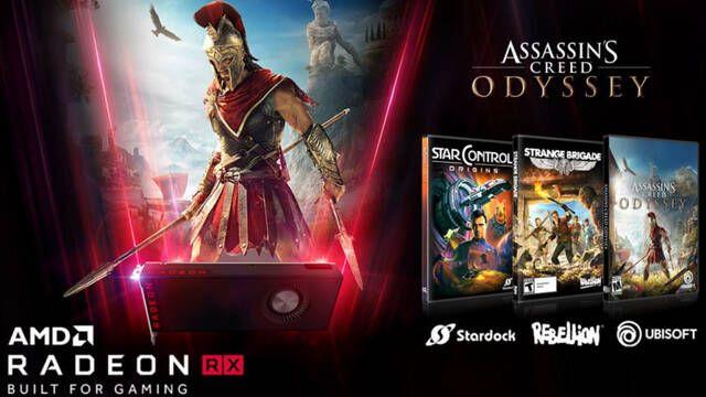Sapphire regala Assassin's Creed: Odyssey y otros dos juegos si compras sus gráficas