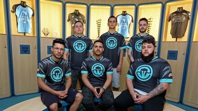 El equipo de Rainbow Six de Immortals, de Bootcamp en el Movistar Esports Centers