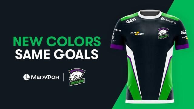 Virtus.pro cambia sus colores por su nuevo patrocinador