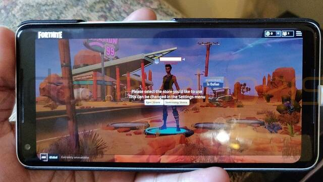 Así se ve Fortnite en Android