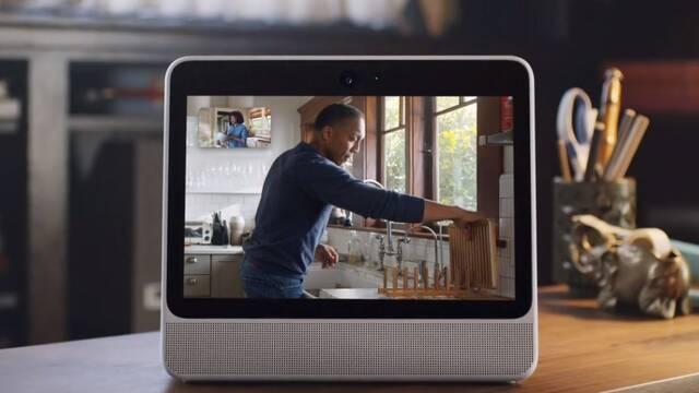 Facebook trabaja en una cámara para la televisión con Netflix y Disney+