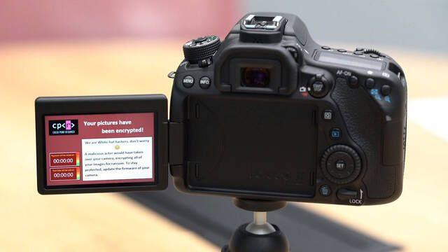 Las cámaras DSLR también son vulnerables al cibersecuestro de datos
