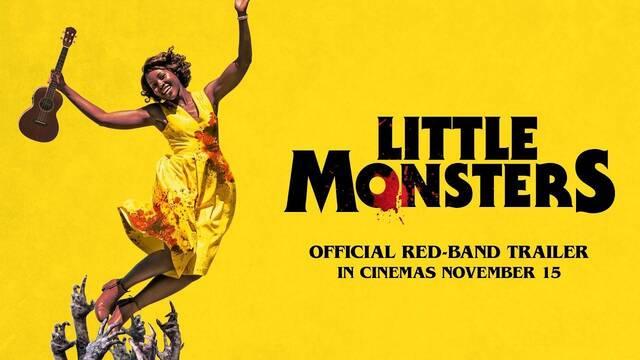 Lupita Nyong'o' protege a unos niños de los zombis en Little Monsters