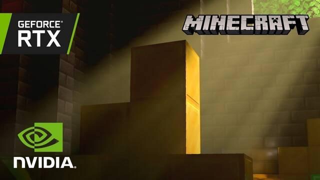 Así se ve Minecraft con el RTX de NVIDIA