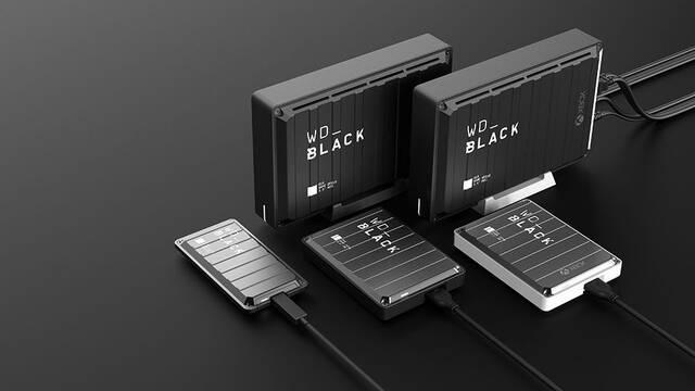 Western Digital presenta sus nuevos HDD y SSD externos para jugadores de consola y PC
