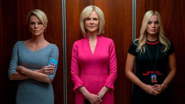 Charlize Theron, Margot Robbie y Nicole Kidman protagonizan Bombshell