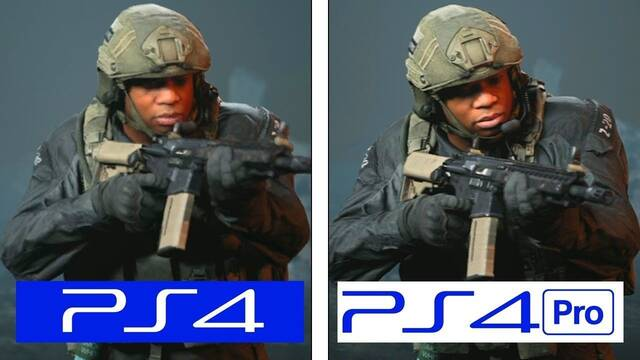 Comparativa gráfica: Alfa de Call of Duty Modern Warfare en PS4 y PS4 Pro