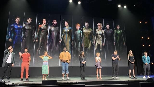 Marvel confirma el reparto de Los Eternos; Kit Harington será Caballero Negro