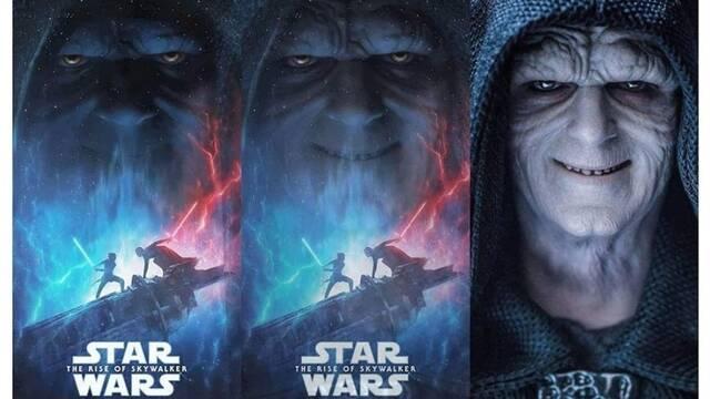 Star Wars: Sí, la cara de Palpatine en el póster es un juguete