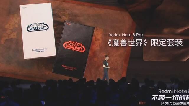 El Redmi Note 8 de Xiaomi tendrá dos ediciones especiales de World of Warcraft