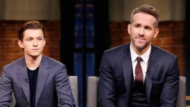 Ryan Reynolds quiere a Tom Holland 3000 y lo hace saber en Instagram