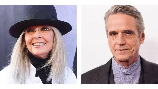 Diane Keaton y Jeremy Irons juntos en Love, Weddings and other Disasters