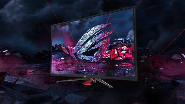 ASUS lanzará en agosto el monitor XG438Q con 4K, HDR y 120 Hz